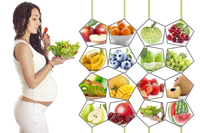 Một chế độ dinh dưỡng đầy đủ và khoa học sẽ giúp các mẹ có một thai kỳ khỏe mạnh