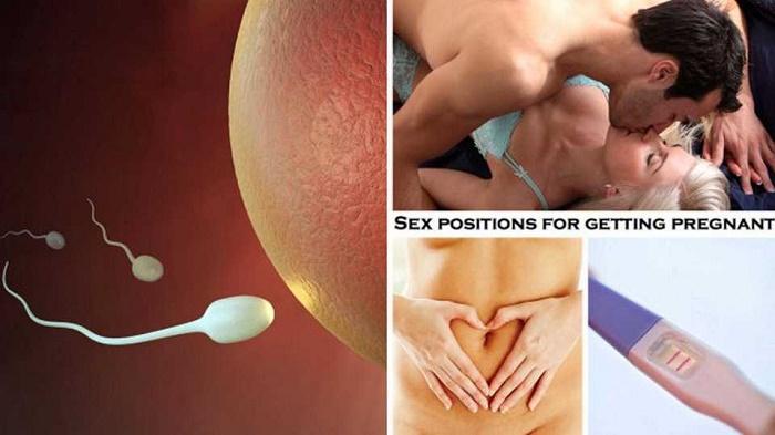 Để có thai, tinh trùng của người nam phải đến được với trứng của người nữ.
