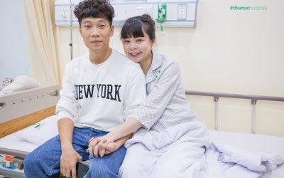 """Gặp gỡ gia đình Ca sĩ Tùng Linh sau khi """"vượt cạn"""" tại Bệnh viện ĐKQT Thu Cúc"""