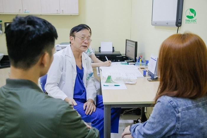 Đến gặp bác sĩ ngay khi có những dấu hiệu bất thường để kịp thời xử trí