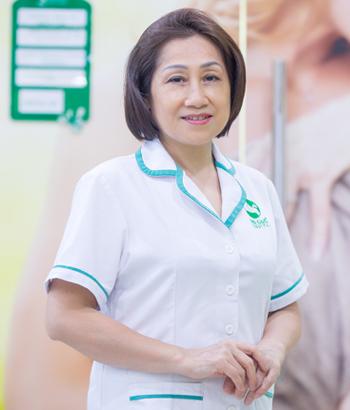 Nguyễn Thị Vinh – Nữ hộ sinh Khoa Phụ sản- Thu Cúc