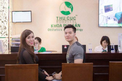 """Diễn viên – Nữ hoàng nhan sắc Việt 2018 Mai Thỏ chọn BV ĐKQT Thu Cúc để đón """"Heo vàng 2019"""""""