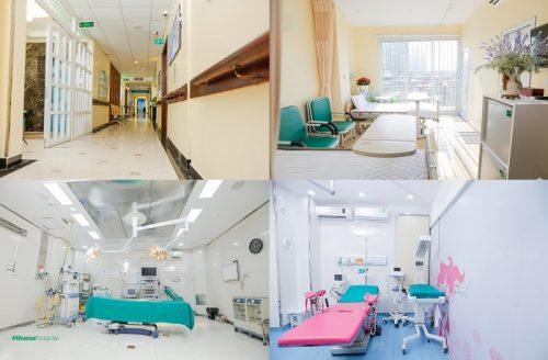 Mục sở thị hệ thống phòng ốc và cơ sở vật chất của Khoa Sản – Bệnh viện ĐKQT Thu Cúc