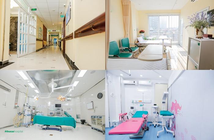 Mục sở thị hệ thống phòng ốc và cơ sở vật chất của Khoa Sản - Bệnh viện ĐKQT Thu Cúc