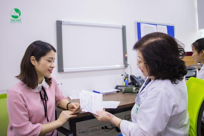 Thăm khám bác sĩ ngay khi có những dấu hiệu bất thường để có hướng xử trí sớm và hiệu quả