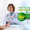 Miễn phí khám, giảm 30% phẫu thuật bệnh lý sản khoa tại Thu Cúc, hưởng BHYT trái tuyến như đúng tuyến