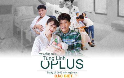 """Vợ chồng ca sĩ Tùng Linh Oplus """" Ngày đi đẻ là một ngày rất ĐẶC BIỆT…"""""""