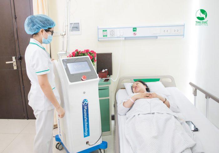 Chiếu Plasma sau sinh: Phương pháp nhanh lành vết mổ 1