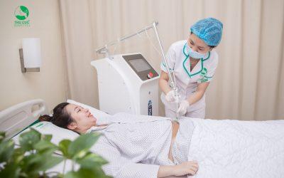 Chiếu Plasma sau sinh: Phương pháp giảm đau, nhanh lành vết mổ