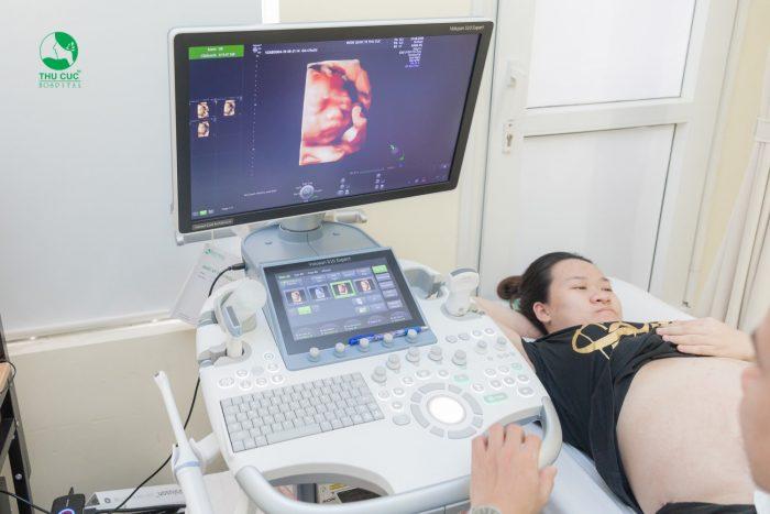 Siêu âm 5D hoàn toàn không ảnh hưởng đến mẹ bầu và thai nhi