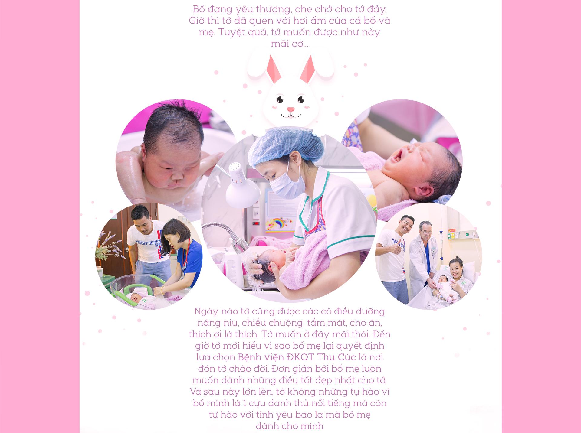 Nhật ký ra đời của bạn Thỏ - thiên thần nhà cựu danh thủ Quốc gia Phạm Như Thuần 8