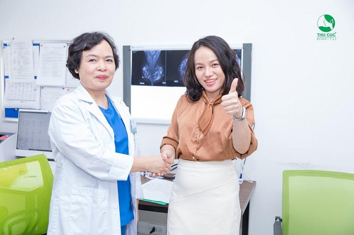 Bệnh viện ĐKQT Thu Cúc là địa chỉ được rất nhiều khách hàng tin tưởng lựa chọn để điều trị polyp cổ tử cung