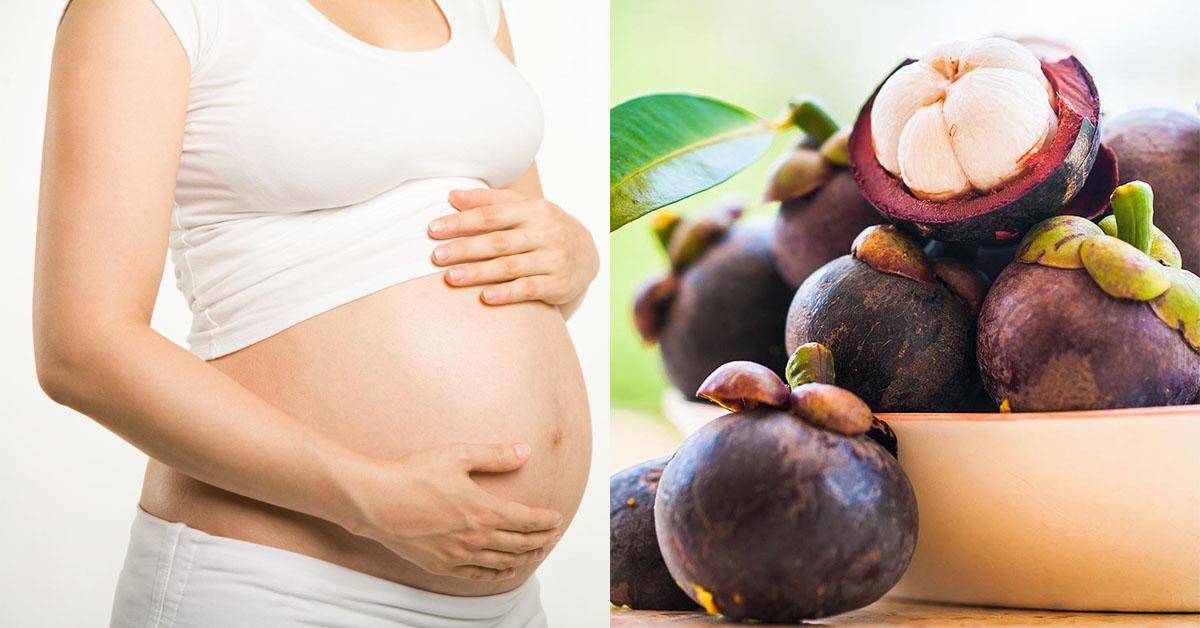 Ăn măng cụt tốt cho cả mẹ và thai nhi khi mẹ mắc tiểu đường thai kỳ