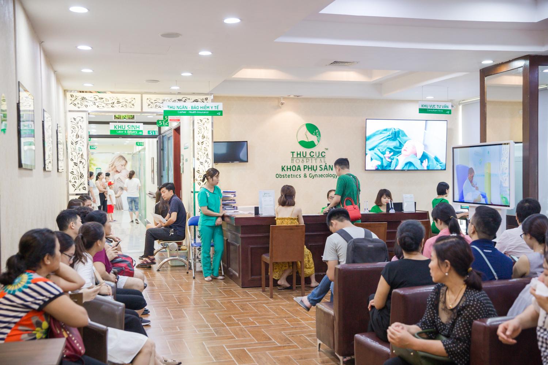 Khoa Sản bệnh viện Thu Cúc là địa chỉ uy tín được nhiều chị em phụ nữ tin chọn là cơ sở thăm khám phụ khoa tận tình, riêng tư, chuyên nghiệp