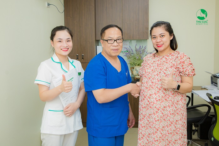 Bệnh viện ĐKQT Thu Cúc là đơn vị uy tín hàng đầu trong việc thăm khám và chữa trị vô sinh ở nữ