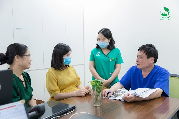 Để biết rõ tiểu đường thai kỳ ăn gì để con tăng cân, mẹ bầu nên tới bệnh viện để được bác sĩ thăm khám và tư vấn chế độ ăn uống phù hợp