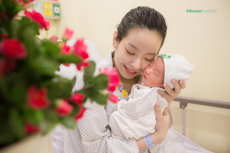 Sinh con là một trải nghiệm hạnh phúc, và tất cả những khoảnh khắc này Bệnh viện Thu Cúc sẽ lưu giữ giúp mẹ bằng những bộ ảnh ý nghĩa