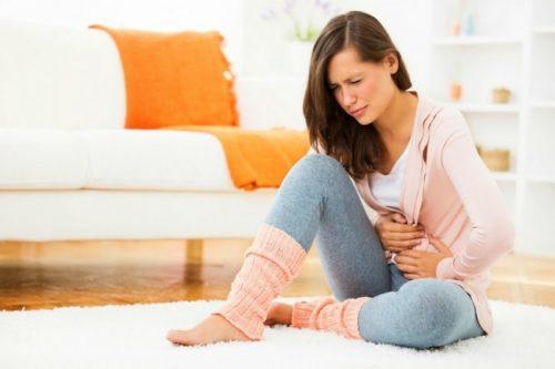 Đặt vòng xong bị đau bụng có sao không?