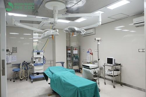 Hệ thống phòng mổ vô khuẩn một chiều được đánh giá là hiện đại bậc nhất Việt Nam.
