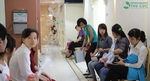 Phòng khám Sản phụ khoa của Bệnh viện Đa khoa Quốc tế Thu Cúc là nơi nhiều cặp vợ chồng tin tưởng lựa chọn để điều trị vô sinh hiếm muộn.