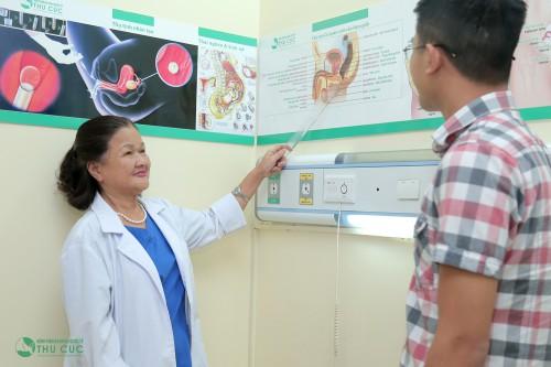 Hãy thăm khám sớm để kịp thời xử trí và ngăn ngừa những tác hại của bệnh