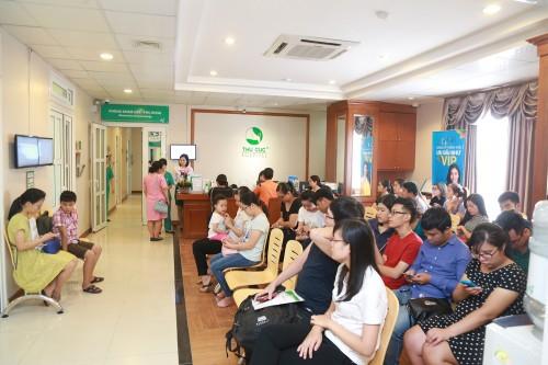 Đơn vị Sản của Bệnh viện Đa khoa Quốc tế Thu Cúc, đội ngũ bác sĩ khám phụ khoa hoàn toàn là nữ giới