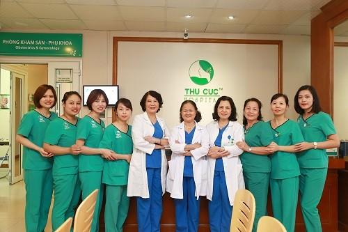 Đơn vị Sản của Bệnh viện Đa khoa Quốc tế Thu Cúc quy tụ đội ngũ bác sĩ giỏi, giàu kinh nghiệm giúp thăm khám và xử trí các vấn đề về phụ khoa hiệu quả