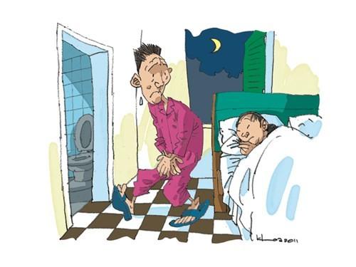 Nguyên nhân đi tiểu nhiều về đêm và cách hạn chế