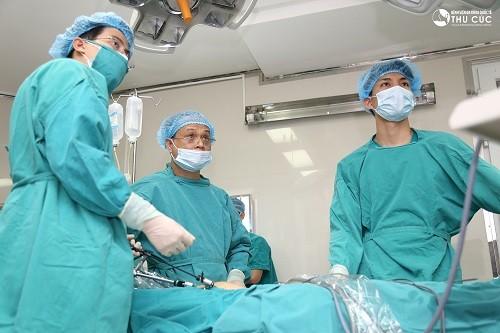 Phương pháp mổ u nang buồng trứng nội soi