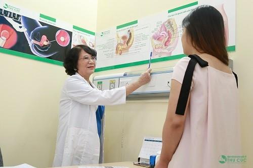 Tái khám theo chỉ dẫn từ bác sĩ để được kiểm tra về tình trạng sức khỏe hiện tại
