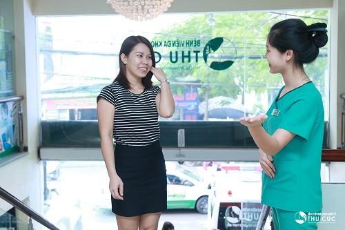 Bệnh viện Thu Cúc là cơ sở chữa viêm lộ tuyến cổ tử cung uy tín.