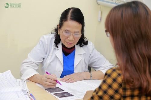 Hãy đi khám phụ khoa để phát hiện và điều trị sớm tình trạng bệnh