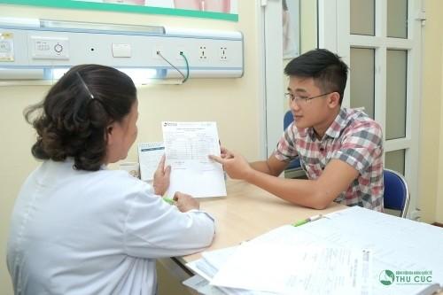 Người bệnh cần thăm khám và điều trị đúng cách khi bị viêm bàng quang tại các cơ sở y tế uy tín.