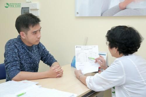 Người bệnh nên đi khám để xác định được nguyên nhân và có cách xử trí phù hợp