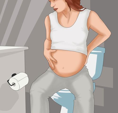 Bị đi ngoài khi mang thai: Nguyên nhân và hướng xử trí