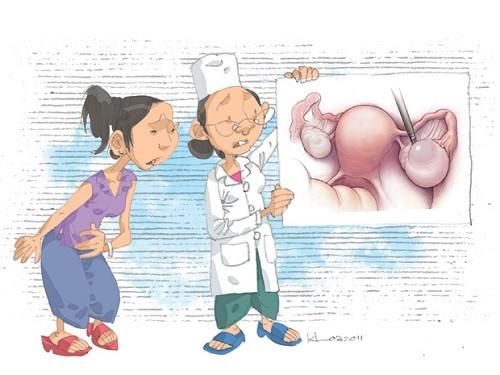 Mổ u nang buồng trứng có sinh con được không?