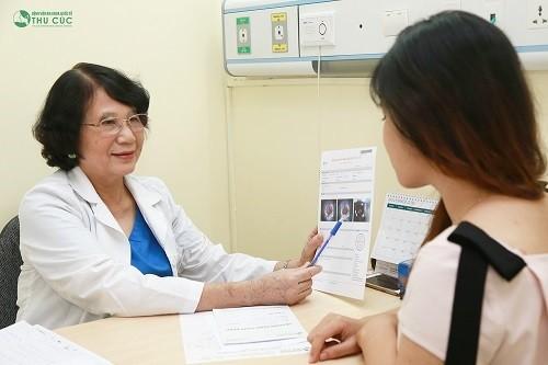 khi có triệu chứng bất thường nên đi thăm khám, tìm nguyên nhân, điều trị theo chỉ định của bác sĩ.