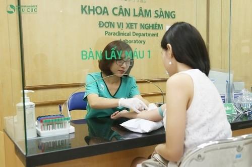 Thử máu cũng là một cách có thể cho biết kết quả có thai hay không sau khi quan hệ khoảng 2 tuần