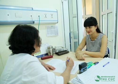 Cần thăm khám tại cơ sở y tế và điều trị càng sớm càng tốt theo chỉ định của bác sĩ.