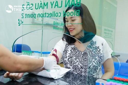 Bệnh viện Đa khoa Quốc tế Thu Cúc là một trong những địa chỉ thực hiện xét nghiệm Double Test được đông đảo thai phụ tin chọn.