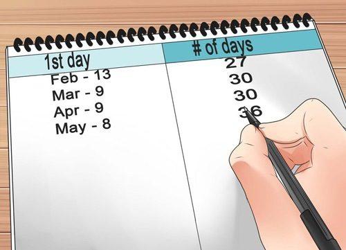 Cần theo dõi trong 3 tháng liên tục, xem chu kỳ kinh có đều không.