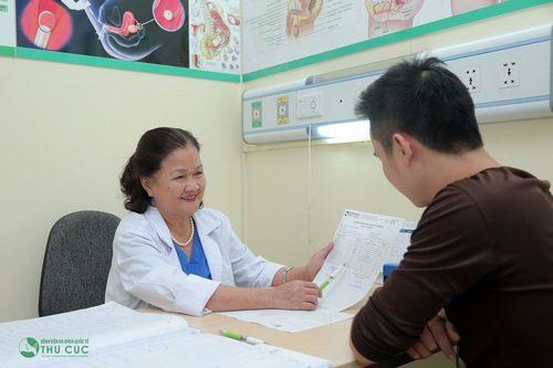 Ngay khi có hiện tượng, người bệnh nên đi khám ngay để được xử trí kịp thời đúng cách.