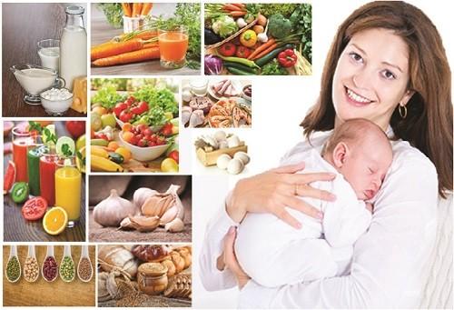 Thực phẩm giúp mẹ nhiều sữa sau sinh