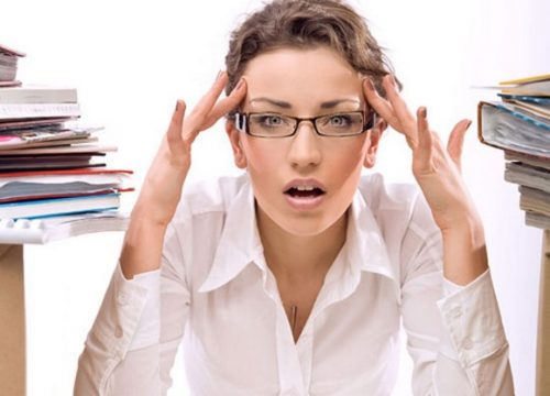 Trường hợp không mang bầu, sự chậm kinh này có thể do bạn quá căng thẳng, quá lo lắng