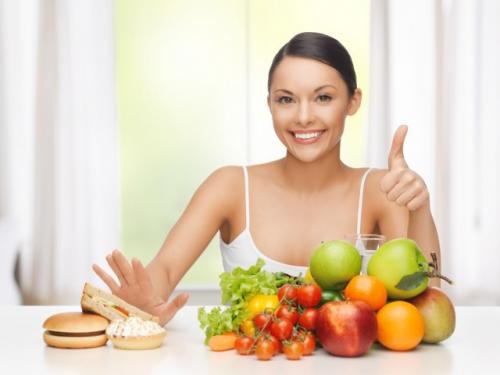 Ăn uống khoa học cũng là một cách phòng tránh bệnh u xơ tử cung.