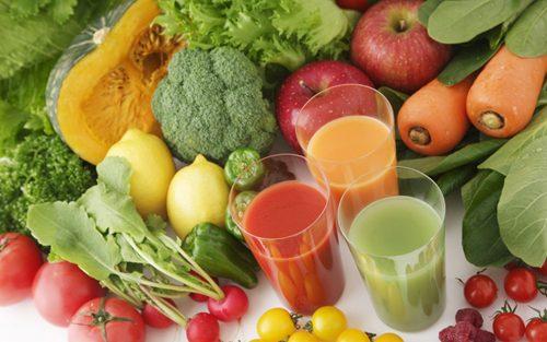 Cần ăn nhiều rau xanh, trái cây.