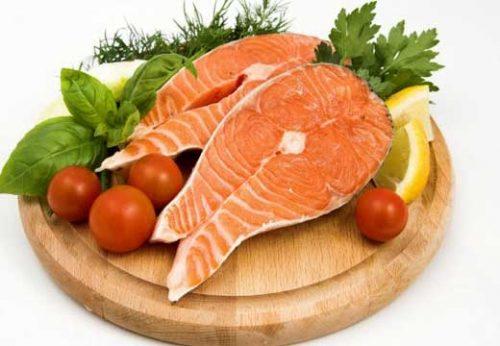 Axit omega–3 làm giảm viêm nhiễm rất tốt nên tích cực bổ sung khi đang bị viêm lộ tuyến.