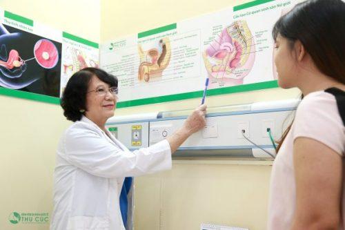 Khi thấy những triệu chứng ban đầu của bệnh, chị em nên đến cơ sở y tế tìm đúng nguyên nhân, tình trạng mức độ, từ đó mà có cách chỉ định điều trị thích hợp.