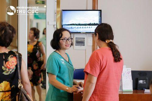 Bệnh viện Đa khoa Quốc tế Thu Cúc là địa chỉ được nhiều chị em tin tưởng lựa chọn.