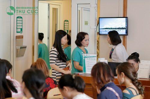 Bệnh viện Đa khoa Quốc tế Thu Cúc là địa chỉ uy tín được nhiều chị em tin tưởng lựa chọn.